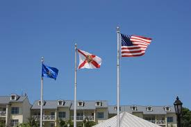 Key West Flag Mallory Square Key West Conch Train Blog