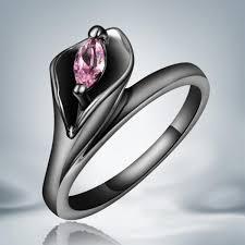 black zircon rings images Latest design trendy turkish engagement rings black buycoolprice jpg