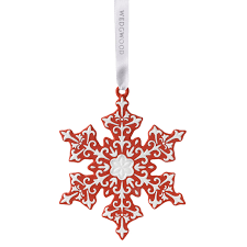 snowflake ornaments wedgwood snowflake ornament 2016 wedgwood ornaments