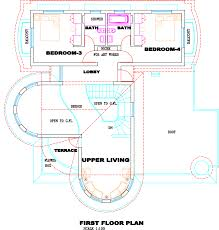100 modern villa plans modern home floor plans h throughout