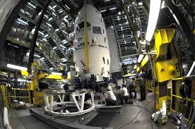 inaugural vega rocket poised at europe u0027s south american spaceport