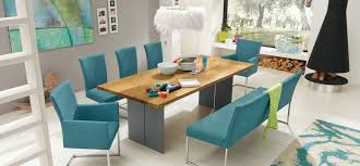Light Blue Dining Room Chairs Modest Blue Leather Dining Room Chairs Eizw Info