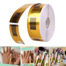 nail art sculpting extension forms nail guide sticker tape nail