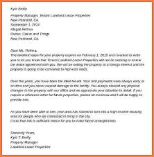 9 lease termination letter to landlord sales intro letter