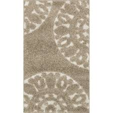 jullian beige shag rug 7 u00277 x 10 u00276 free shipping today