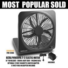 o2cool 10 inch battery or electric portable fan heavy duty o2cool 10 inch portable battery operated fan adapter