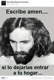 Charles Manson Meme - usuarios de redes confunden a asesino serial con jesucristo