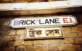 borough market sign brick lane market in london