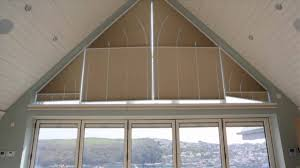 pleated gable end blinds video appeal shading youtube