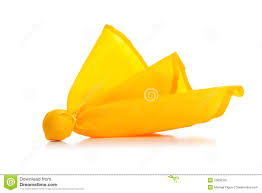 Yellow And White Flag Yellow Penalty Flag On A White Background Stock Image Image