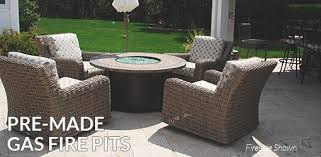 Stone Fire Pit Kit by Outdoor Gas Fire Pits Natural Gas Propane Stone Fire Pit Kit