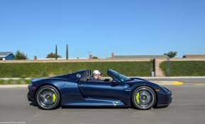Porsche 918 Blue - 2015 porsche 918 spyder tested 2 2 seconds to 60 car and