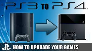ps3 gaming console playstation 4 upgrade programme how to upgrade ps3 to ps4