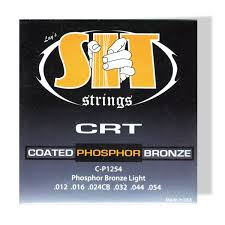 Light Guitar Strings by S I T Light Guitar Strings Crt Phosphor Bronze Cp 1254
