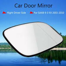 car door mirror glass saab 9 3 mirror glass ebay