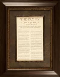 framed family proclamation 9 best family proclamation images on family proclamation