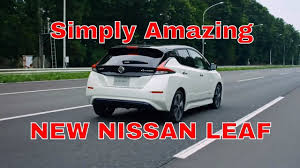nissan leaf price ireland nissan leaf review exterior and interior design youtube