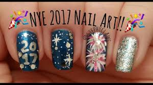 new years eve 2017 nail art tutorial nail design stephyclaws