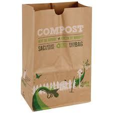 composteur de cuisine sacs pour résidus de cuisine paquet de 10 fumier compost canac