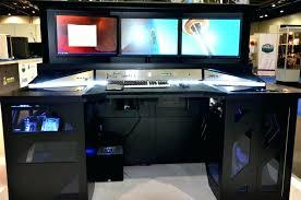 Computer Desk Built In Diy Gaming Computer Desk Gaming Desk Great Arrangement For Gaming