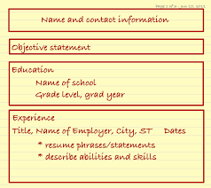 should my resume have an objective statement should i include a picture on my resume free resume example and although the chronological resume format