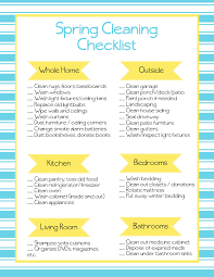 How To Do Spring Cleaning Free Printable Spring Cleaning Checklist How To Do Easy