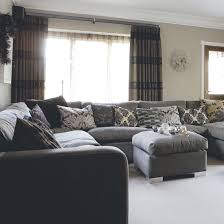 Delighful Grey Living Room Ideas Uk And Yellow Decorating - Grey living room design ideas