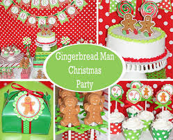 themed christmas sweetly feature gingerbread christmas party sweetly chic
