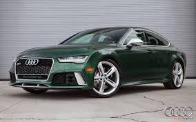 audi 2016 2016 audi rs7 in verdant green looks like a bentley autoevolution