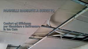 pannelli radianti soffitto il soffitto radiante riscaldamento e raffrescamento efficienti
