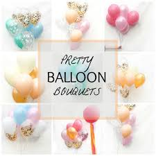balloons bouquets balloon bouquet you pastel balloons pretty