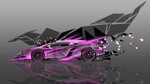 Lamborghini Veneno Modified - 4k lamborghini veneno side super abstract car 2015 el tony