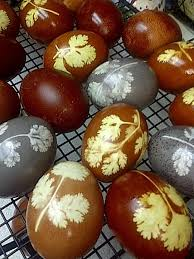 Decorating Easter Eggs With Onion Skins by Traditional Armenian Easter Eggs Dyed With Onion Skins Hubpages