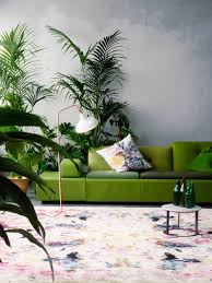how to use greenery furniture to make spaces look trendy