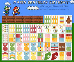 mario birthday invitations template best template collection
