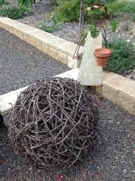 Do It Yourself Garden Art - do it yourself grape vine ball cuttings free little bit of