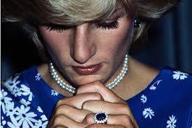 ring diana princess diana royal wore engagement ring years after
