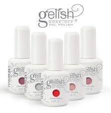 gelish nails lovebird makeup
