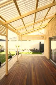 Clear Patio Roofing Materials by Polycarbonate Roofing Suntuf Softwoods