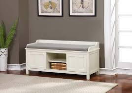 White Wood Storage Bench Amazon Com Lakeville Storage Bench Kitchen U0026 Dining
