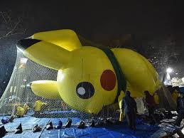 nyc thanksgiving parade balloon inflation how to
