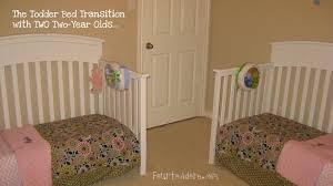Cribs That Convert Into Toddler Beds by Twins In Toddler Beds U2013 Four To Adore