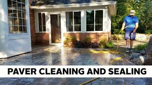 Sealing A Paver Patio by Stone Paver Patio Cleaning And Sealing Cincinnati Oh 859 379