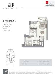 floor plans 52 42 fifty two forty two tower dubai marina