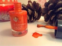 review b complete long lasting nail polish in u0027sunrise u0027 tea