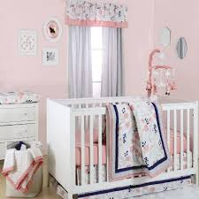 20 best coral baby bedding girls crib bedding nursery decor images