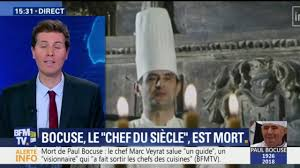 bfmtv cuisine paul bocuse a été le premier à médiatiser les chefs dit le chef