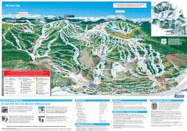 Colorado Mountain Map by Vail Skimap Org