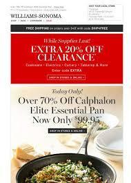 williams sonoma black friday williams sonoma coupon deals triple savings on vitamix more