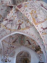 church frescos in denmark wikipedia